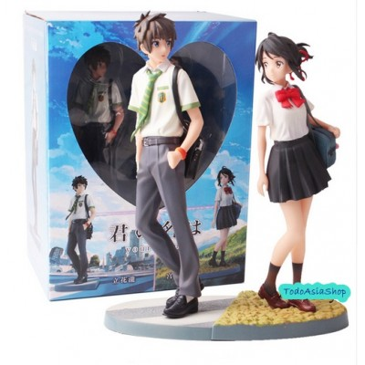 Your Name - Figura de Taki y Mitsuha