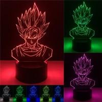 Dragon Ball - Lampara de Goku 3D