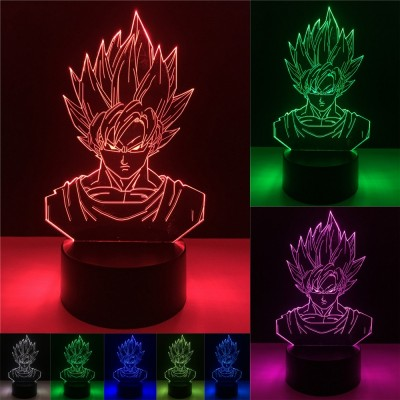 Dragon Ball - Lampara de Goku 3D