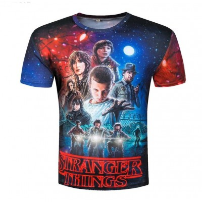 Stranger Things - Camiseta Estampado 3D