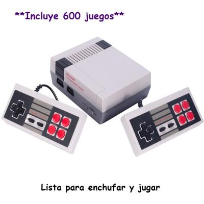 Mini Consola Retro con 600 Juegos