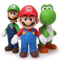 Super Mario Bros - Pack de 3 figuras
