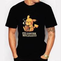 Camiseta Pikachu Coffee