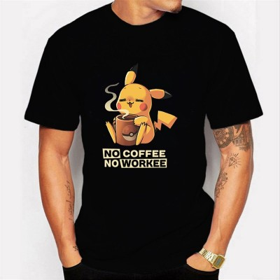 Camiseta Pikachu Coffee