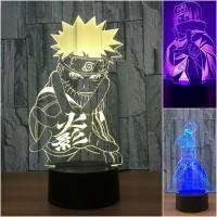 Naruto - Lampara Led 3D
