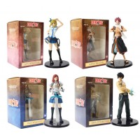 Fairy Tail - Set de 4 figuras