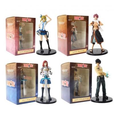 Fairy Tail - Set de 4 figuras