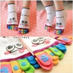 Calcetines de dedos (5 pares)