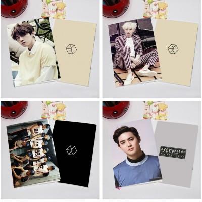 Cuadernos kpop - EXO