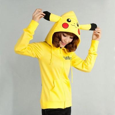 Sudadera, pikachu, pokemon