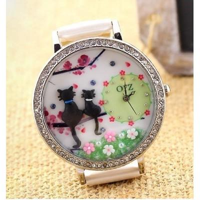 Reloj mujer modelo gatos