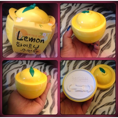 Baviphat - Lemon Whitening Sleeping Pack 100g