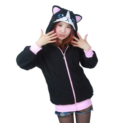 Sudadera Black Cat