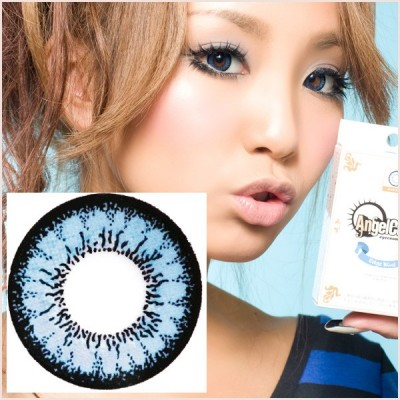 Circle Lens - GEO ANGEL BLUE