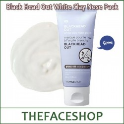 [The FACE Shop] Blackhead Out White Clay Nose Pack 50g