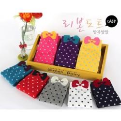 Calcetines con lacito ( 5 pares)