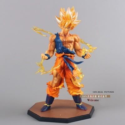 Dragon Ball Z Super Saiyan Son Goku figura pvc
