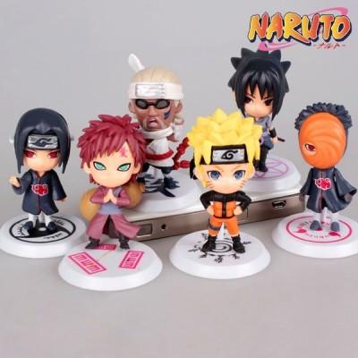 Naruto - Set de 6 figuras pvc