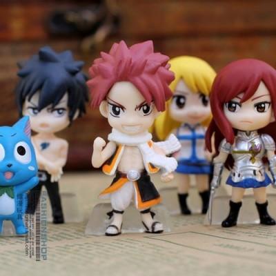 Fairy Tail - Set de 6 figuras