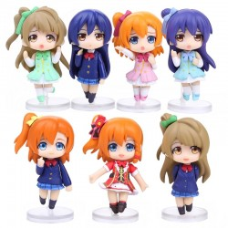 Love Live! School Idol Project - Set de 7 figuras