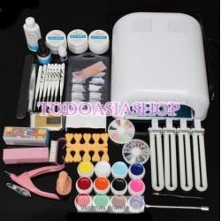 Kit completo profesional para uñas de gel