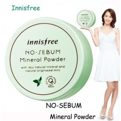 [ Innisfree ] No sebum Mineral Powder