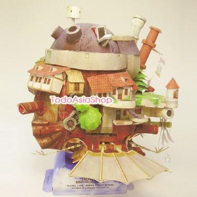 El castillo ambulante - Puzzle en 3D