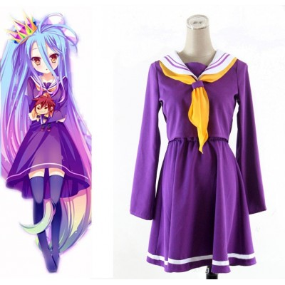 No Game No Life - Vestido Shiro