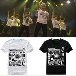 KPOP - Camiseta BTS Wake up live Tokyo