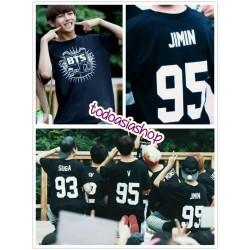 KPOP - Camiseta BTS Basic