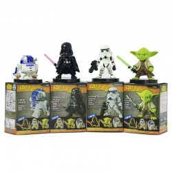 Star Wars - Set de 4 figuras pvc