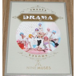 NINE MUSES - Drama 3RD MINI ALBUM