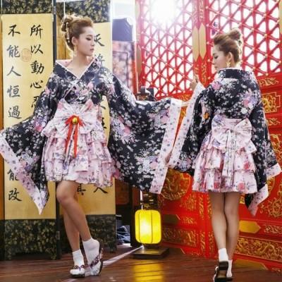 Kimono corto tipo lolita