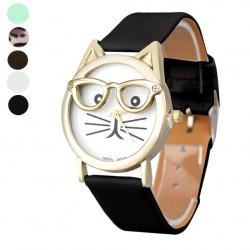 Reloj Gatito con gafas