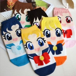Calcetines Sailor Moon ( 6 pares)