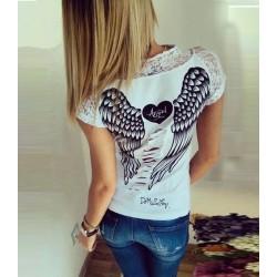 Camiseta alas de angel