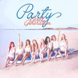 Girls Generation SNSD Single Album - PARTY