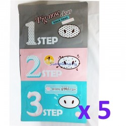 [Holika Holika] PIG-NOSE CLEAR BLACKHEAD 3-STEP KIT