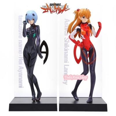 Evangelion - Figuras de Rei & Asuka