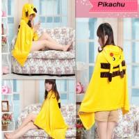 Capa / Poncho de Pikachu