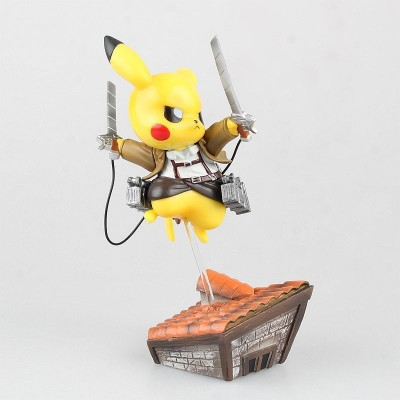 Pikachu Cosplay Attack on Titan