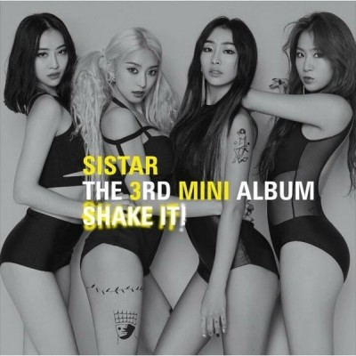 SISTAR - Shake It (3rd Mini Album)