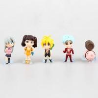 Nanatsu no Taizai - Set de 5 figuras