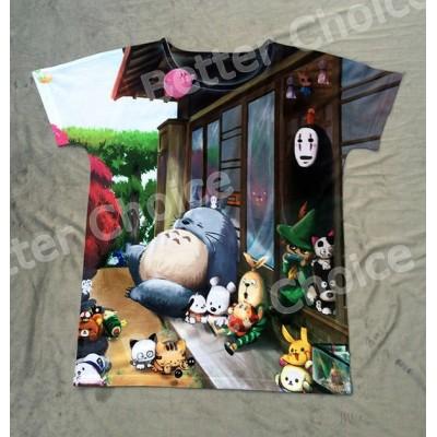 Camiseta de Totoro y kaonashi, todas las tallas
