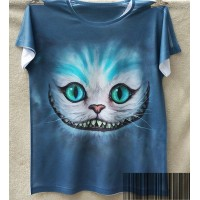 Camiseta de Cheshire Cat