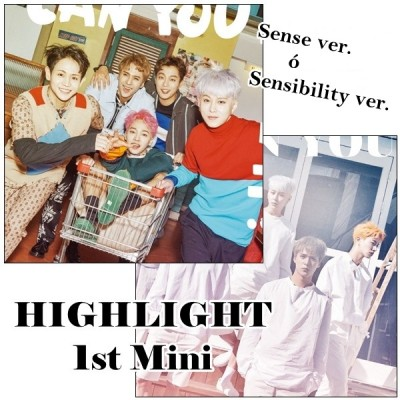 Highlight - 1st. Mini Album Can You Feel It?