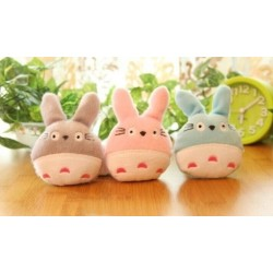 Set de 3 peluches de totoro para el movil