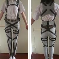 Ataque a los titanes - Pack de arneses y cinturones