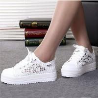 Zapatillas Blancas de Encaje
