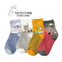 Studio Ghibli - Pack de 4 Calcetines